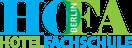 Hotelfachschule Berlin – Die Weiterbildung im Gastgewerbe für alle Hotelberufe Logo
